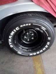 Título do anúncio: Rodas Maverick com pneus