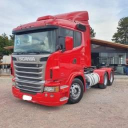 Caminhão Scania R440 Cavalo Trucado 6x2 2013 - R 440....