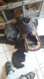 Conserto de cela para cavalo