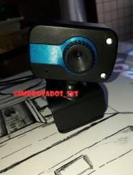 Câmera Webcam Full HD 1080p com Microfone