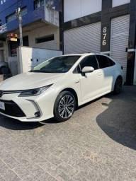 Título do anúncio: Toyota Corolla 1.8 Hybrid Altis Apremiunh (CVT) 2021 impecável com teto solar