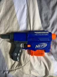 Nerf retaliator SÓ ESSA PARTE usada