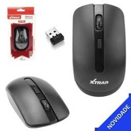 Promoção Mouse Óptico Xtrad
