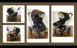 Carrinho de bebê Bugaboo Camaleon + Moisés + Acessórios