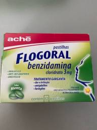 Título do anúncio: Flogoral pastilhas para garganta com 12 unidades