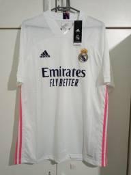 Camisa Real Madrid Titular 20/21 Tamanho 2xl