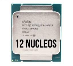 Processador Intel Xeon E5-2678v3 2.5ghz 12 núcleos / 24 threads