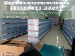 Gôndolas direto da distribuidora com preço de Revenda