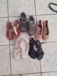 Título do anúncio: Lote sapatos infantil