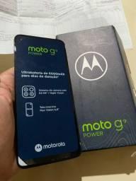 Moto g9 Power com nota fiscal e garantia sem uso