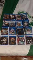 Jogos PS4 (novos e semi novos)
