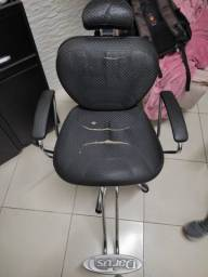 Cadeira de Barbeiro Reclinável