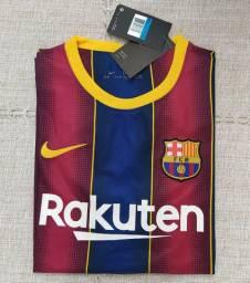Camisa Barcelona Nike 2021 Original Importada Entrego