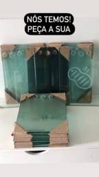Tábua de vidro para corte de carne