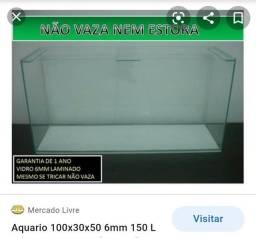 Aquário 150 litros