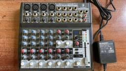 Mesa de Som Behringer Xenyx 1202FX - 12 canais