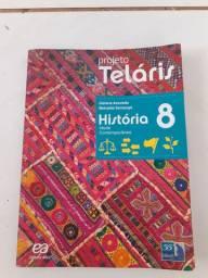 Livros Projeto Teláris 8° ano
