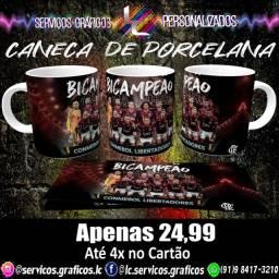 CANECAS PERSONALIZADAS DO FLAMENGO