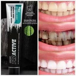 Título do anúncio: Gel Dental Branqueador Carvão Ativado Lançamento 70g