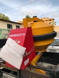 Aluguel -Locação de Betoneira 400L Menegotti - Últimas unidades disponíveis!