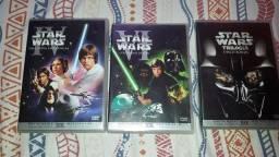 Título do anúncio: Coleção de filmes: star wars