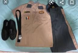 Uniforme do colégio militar