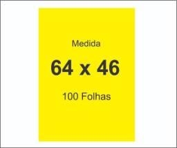 Cartaz Oferta - Amarelo 46 x 64 ( 100 folhas )