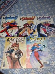 Mangás Slayers do 1 ao 5. ( Panini comics)
