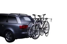 Suporte de bicicleta Thule Hang on 3 bikes com inclinação