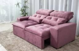 Sofa Retrátil e Reclinável 2mt frete grátis para todo estado do Rio de Janeiro