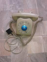 Telefone retro funcionando