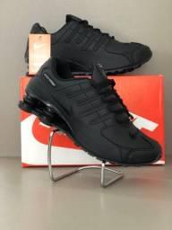 Tênis Masculino Nike Shox 4 Molas - preto!