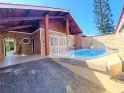 Título do anúncio: Casa 3 dorms, 94 mil de entrada, piscina churrasqueira, Peruíbe