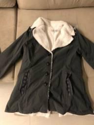 Casaco de frio cinza