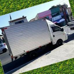 Frete e Mudança caminhão baú HR todos os estados do Brasil