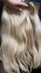Vendo cabelo loiro humanos duas telas