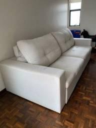 Vendo Sofá em Linho - Retrátil