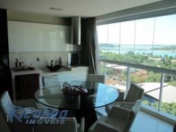 Apartamento de alto padrão de 4 quartos em Santa Helena com belíssima vista para baia de V