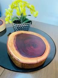 Tábuas de corte rústica madeira Roxinho