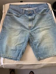Bermuda Jeans Levi's - Tamanho: 38 - original e usada 3 vezes