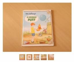 Livro O Ursinho Puff - Walt Disney (anos 80)