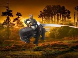 dinossauro a pilha BL 124146