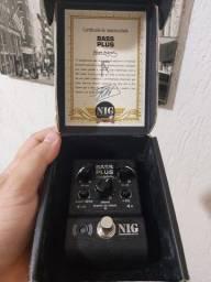 Pedal Nig Bass Plus novissimo na caixa