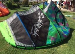 Kitesurf - Kite e Prancha kite wave