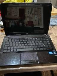 Notebook hp i7, 8gb, Hd1tb (Aceito Cartão)