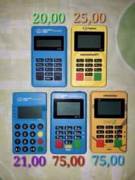 Máquinas de passar cartão diversas