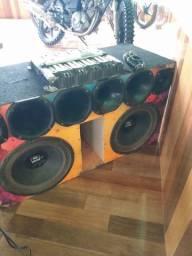 Vendo caixa de som e módulo