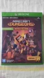 minecraft dungeons - hero edition (inclui hero pass) NOVO