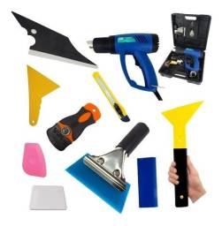 Título do anúncio: espatulas, rodos, ratinhos, e acessórios aplicadores películas insufilme e envelopamento