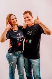 Conjunto de Camisas para o dia dos namorados R$ 45